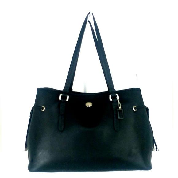 Coach Handbags - Coach Peyton Black Satchel/Shoulder Bag